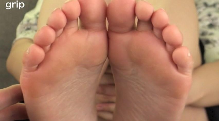 足の裏のズーム